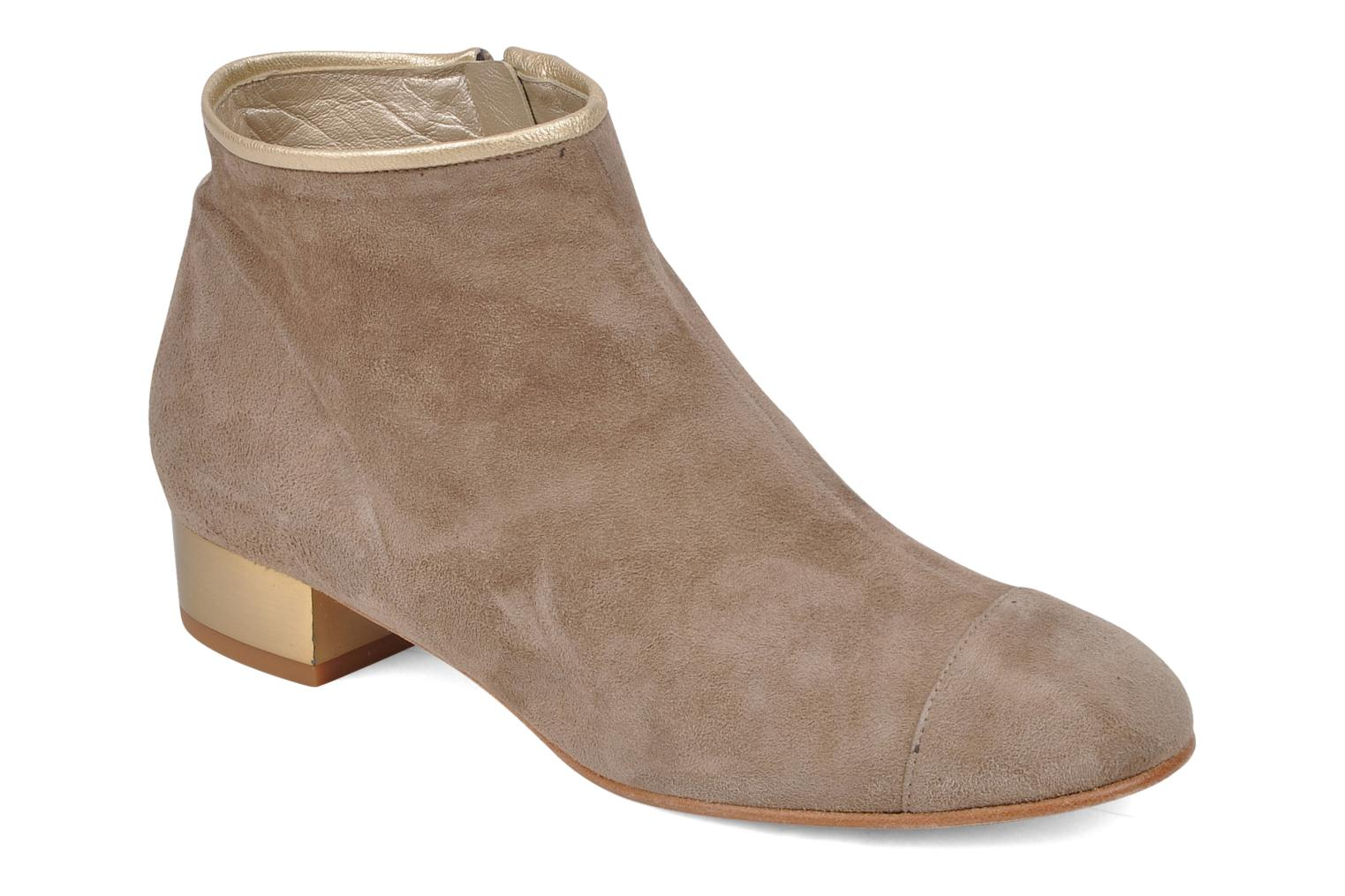 Ankle boots Mellow Yellow Jane Beige detailed view/ Pair view