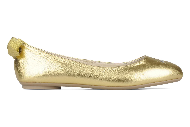 Ballet pumps Mellow Yellow Junior Bronze and Gold back view