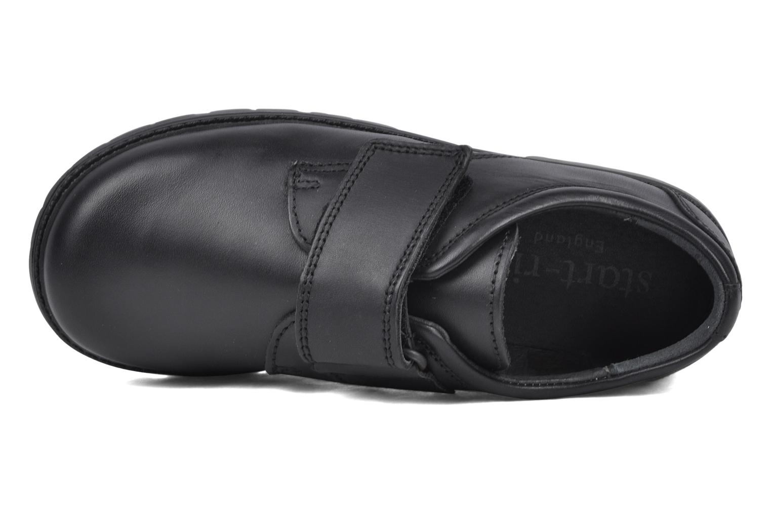Velcro shoes Start Rite Will Black view from the left