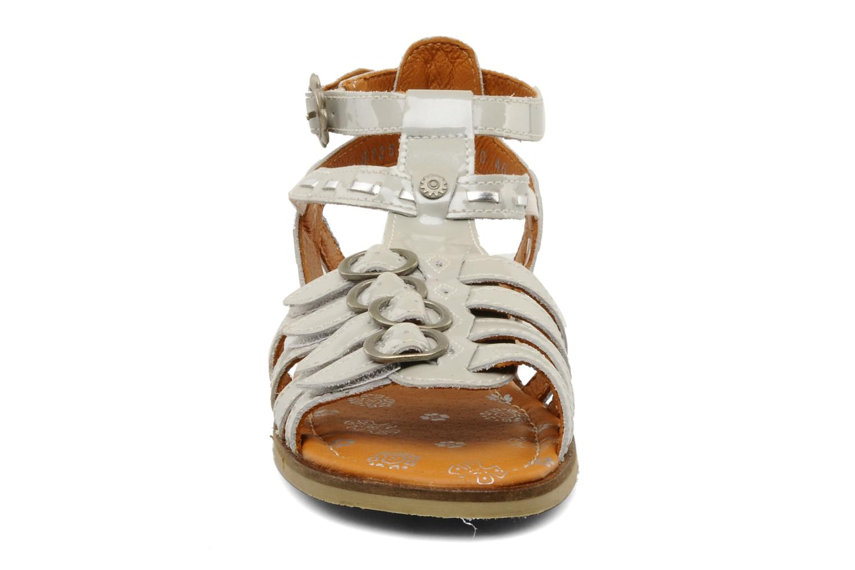 Sandals Start Rite Peruvian Silver model view