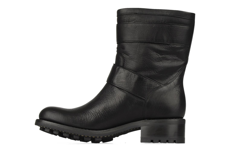 Bottines et boots Free Lance Biker 4 Mini Strap Noir vue face