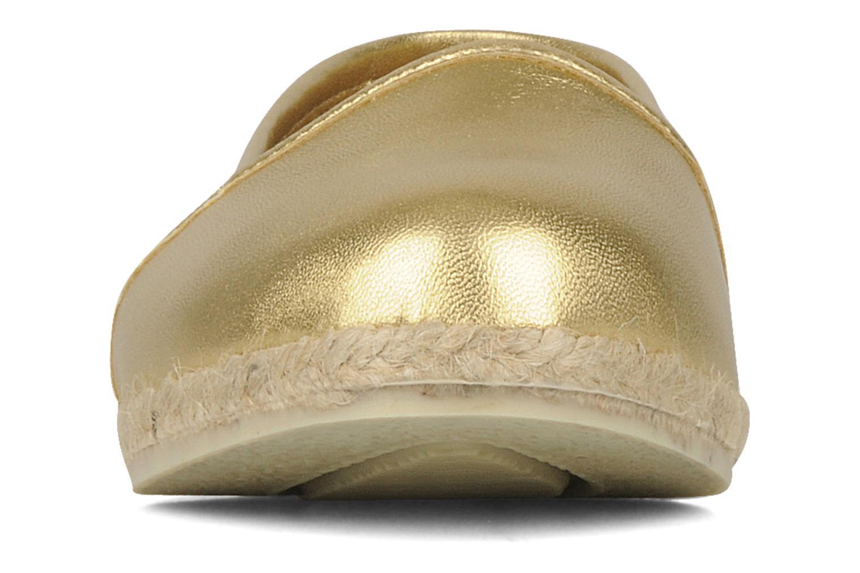 Ballerines Zespà Cordoba Or et bronze vue portées chaussures