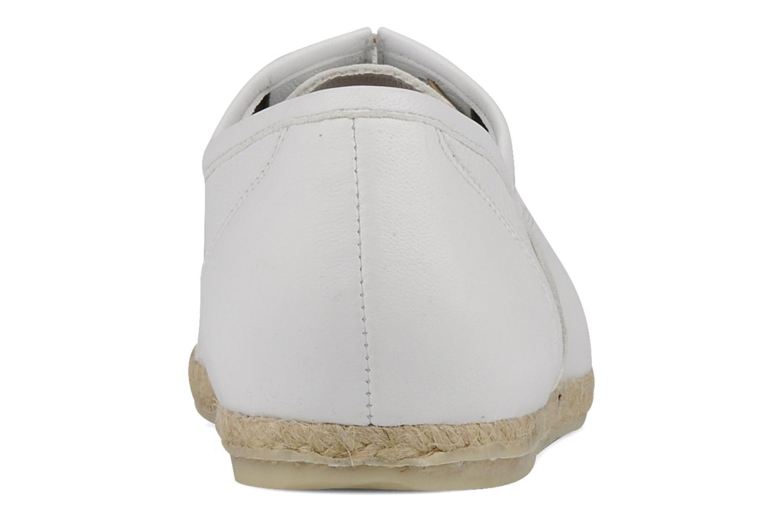 Chaussures à lacets Zespà Salhia Blanc vue droite