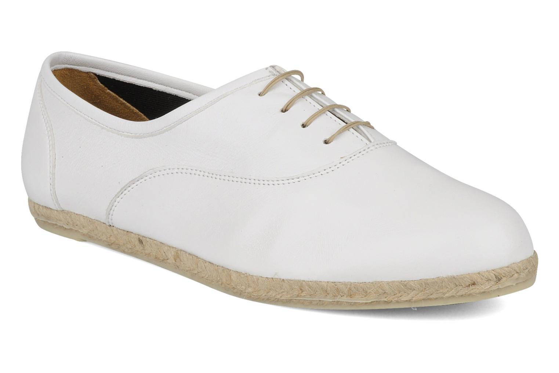 Chaussures à lacets Zespà Salhia Blanc vue détail/paire