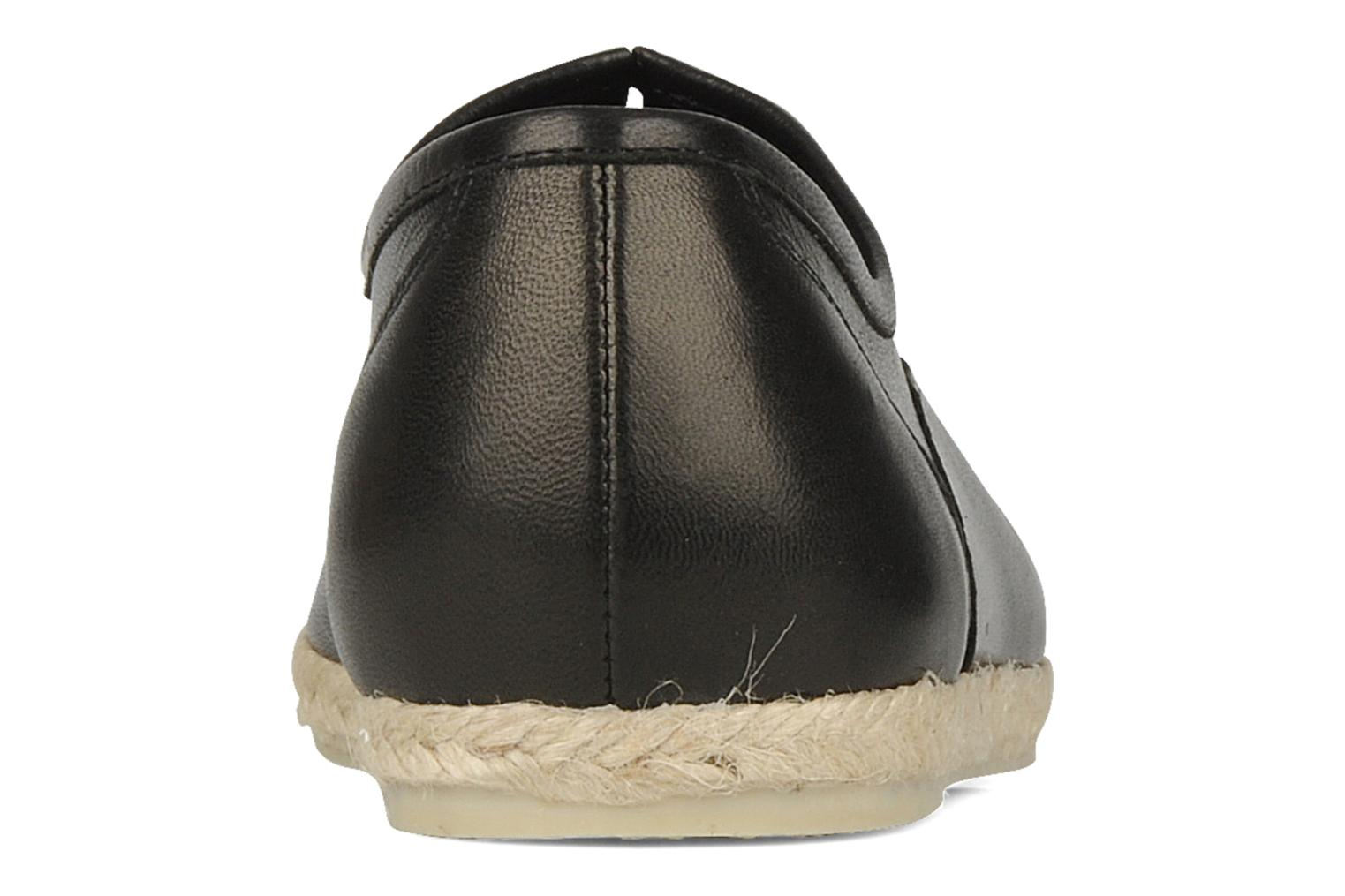 Lace-up shoes Zespà Salhia Black view from the right