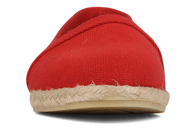 Espadrilles Zespà Tobia Rouge vue portées chaussures