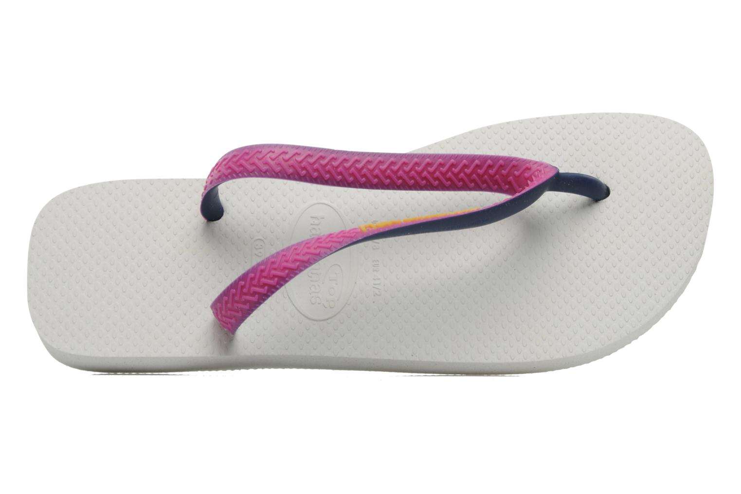 Chanclas Havaianas Top Mix F Rosa vista lateral izquierda
