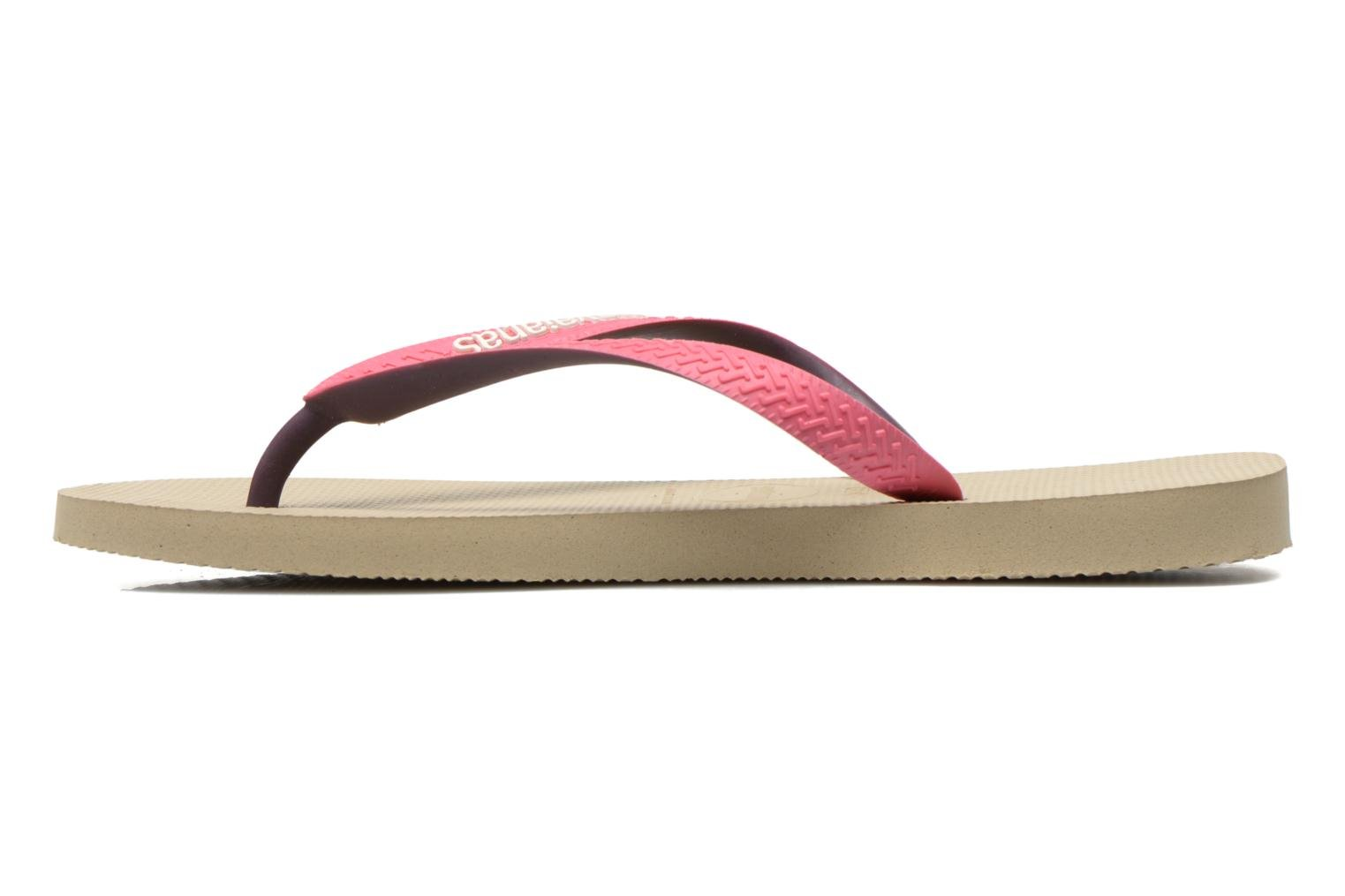 Tongs Havaianas Top Mix F Beige vue face