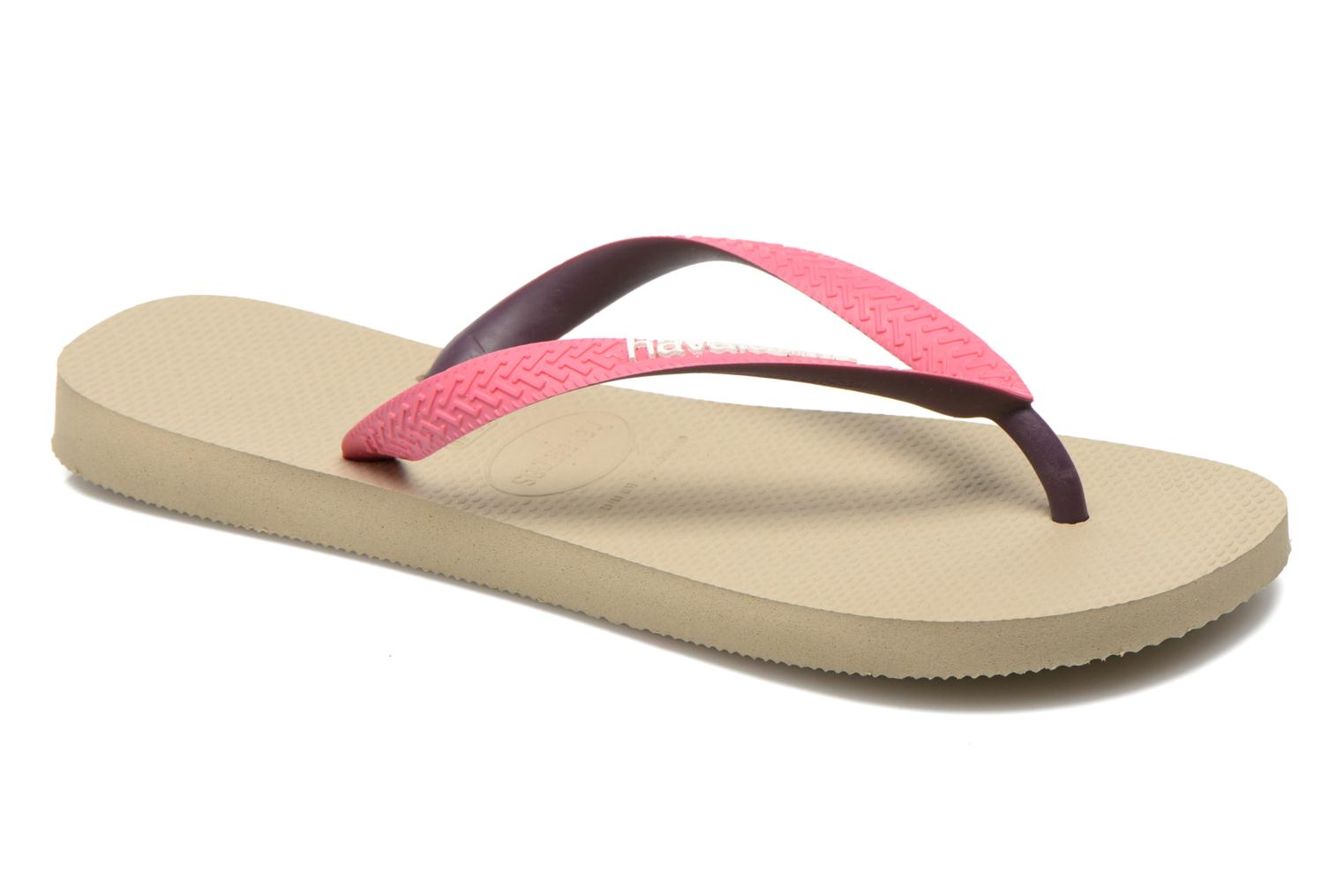 Marques Chaussure femme Havaianas femme Top Mix F Sand Grey Pink