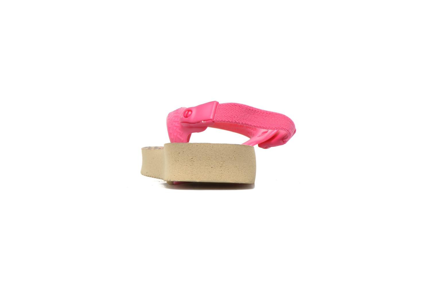 Tongs Havaianas Baby chic Rose vue droite