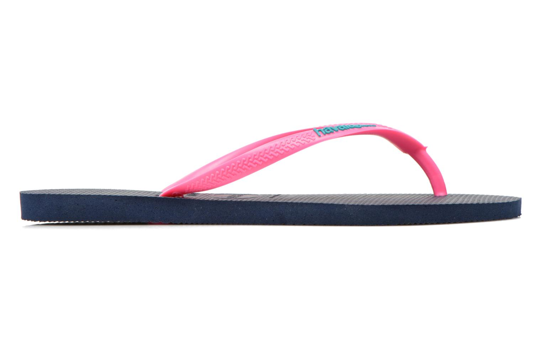 Slim logo femme Navy Blue/Pink