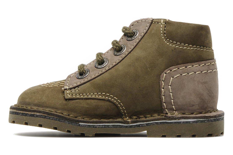 Stiefeletten & Boots Kickers Little grün ansicht von vorne