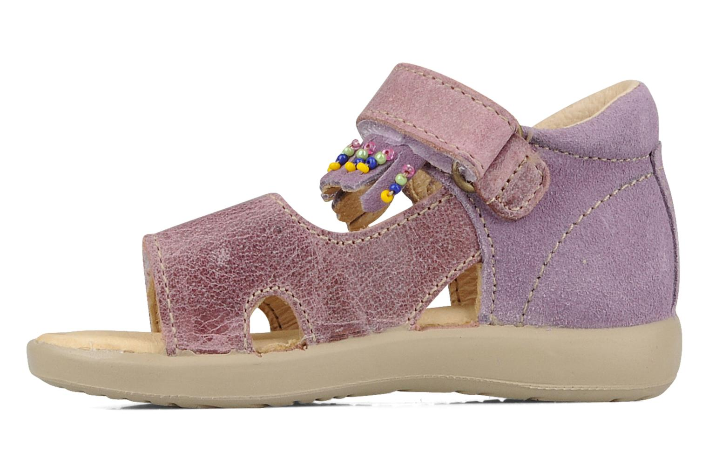 Sandali e scarpe aperte Naturino Karine Viola immagine frontale