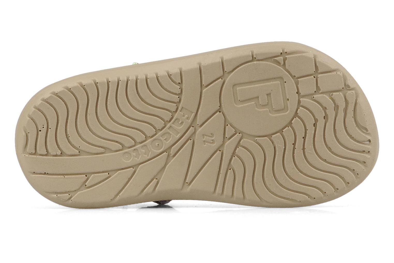 Sandali e scarpe aperte Naturino Karine Viola immagine dall'alto