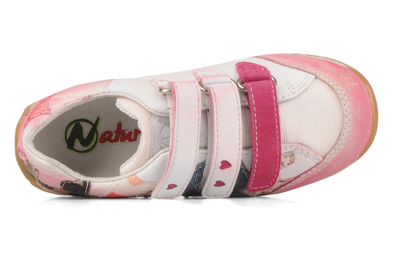 Sneakers Naturino Meiji Rosa immagine sinistra