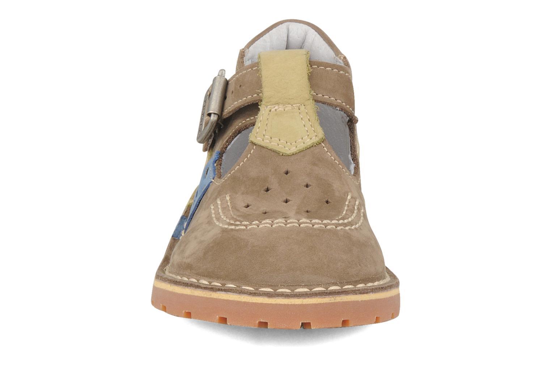 Bottines et boots Kickers Liko Vert vue portées chaussures