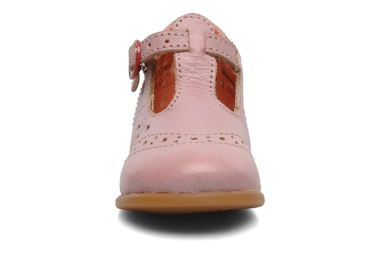 Bottines et boots Kickers Selena Rose vue portées chaussures