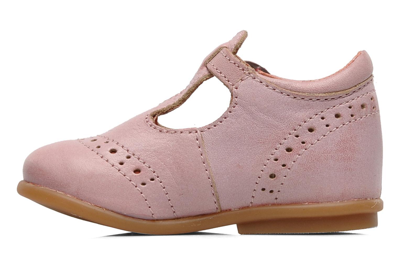 Bottines et boots Kickers Selena Rose vue face