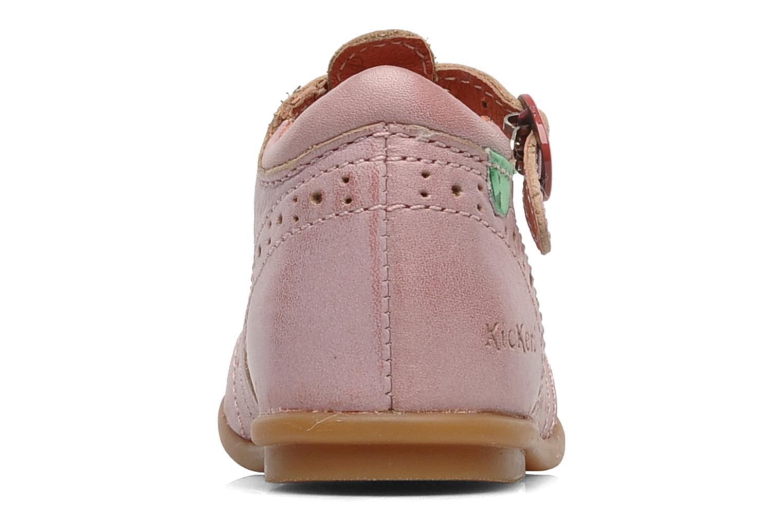 Bottines et boots Kickers Selena Rose vue droite