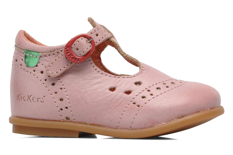 Bottines et boots Kickers Selena Rose vue derrière