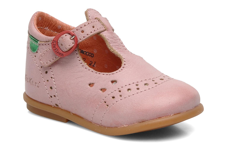 Bottines et boots Kickers Selena Rose vue détail/paire