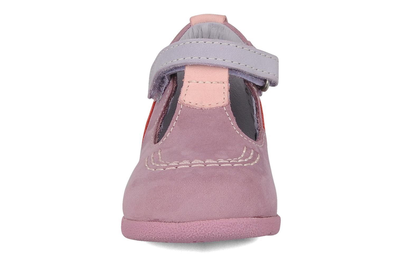 Stiefeletten & Boots Kickers Babyfrench lila schuhe getragen