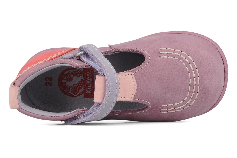 Stiefeletten & Boots Kickers Babyfrench lila ansicht von links