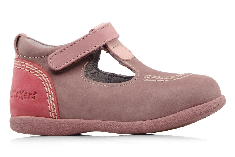Stiefeletten & Boots Kickers Babyfrench rosa ansicht von hinten