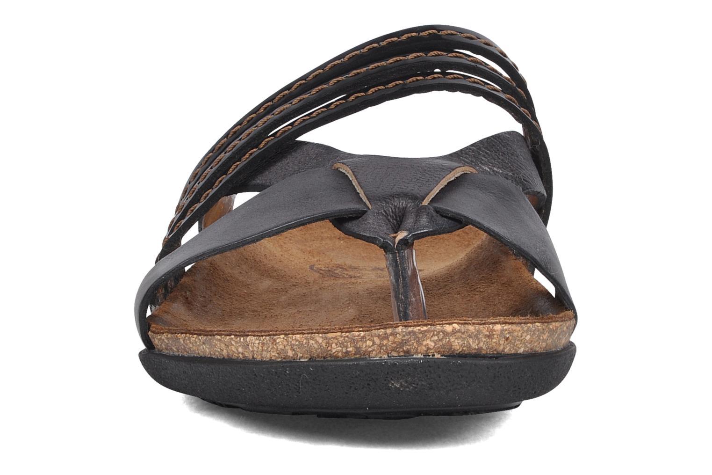 Tongs Kickers Antigone Noir vue portées chaussures