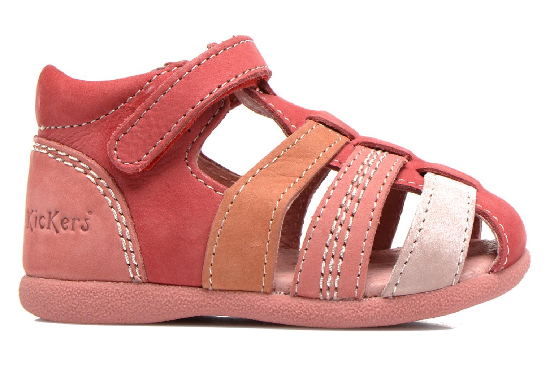 Sandales et nu-pieds Kickers Babysun Rouge vue derrière