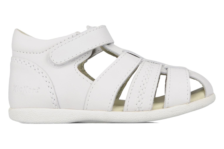 Sandales et nu-pieds Kickers Babysun Blanc vue derrière