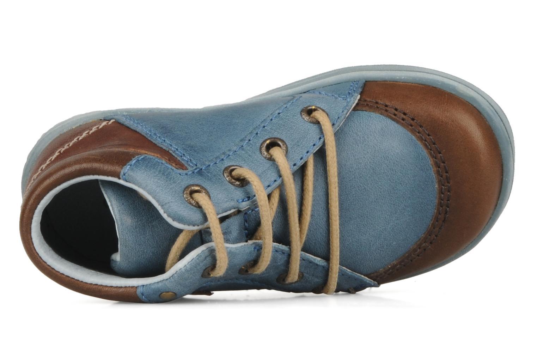 Stiefeletten & Boots Kickers Travis blau ansicht von links