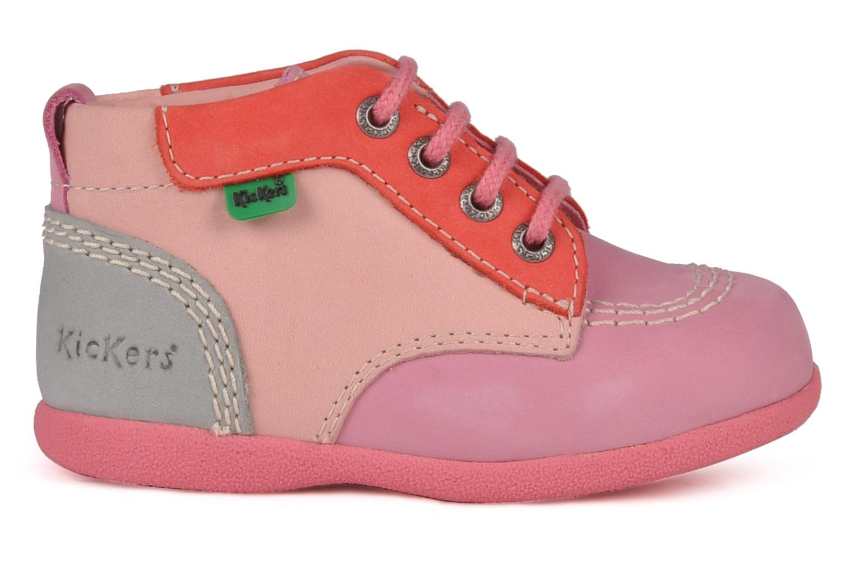 Stiefeletten & Boots Kickers Babystart rosa ansicht von hinten