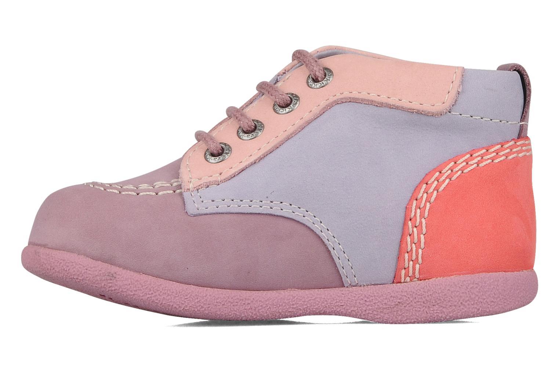 Stiefeletten & Boots Kickers Babystart lila ansicht von vorne