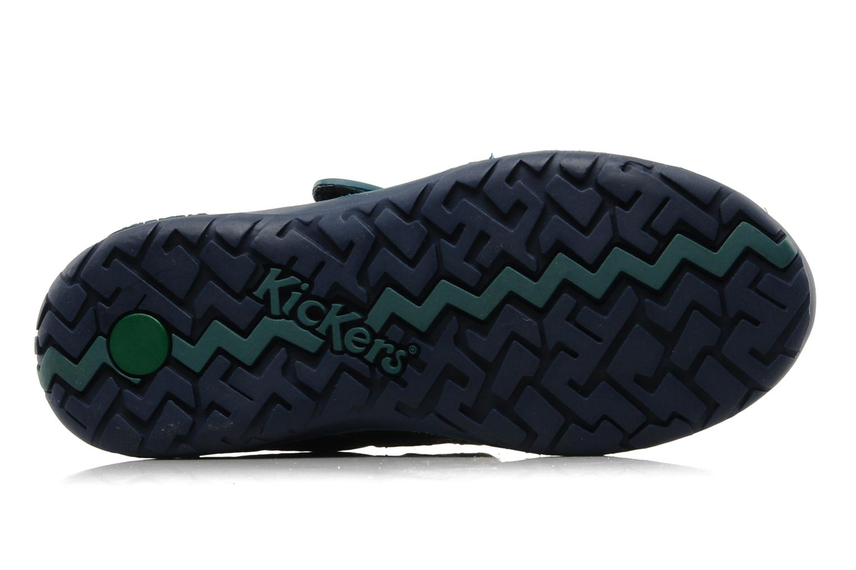 Schoenen met klitteband Kickers Spred Blauw boven