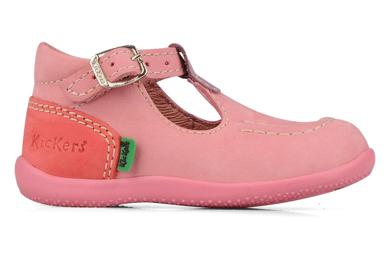 Bottines et boots Kickers Bonbek minnie Rose vue derrière