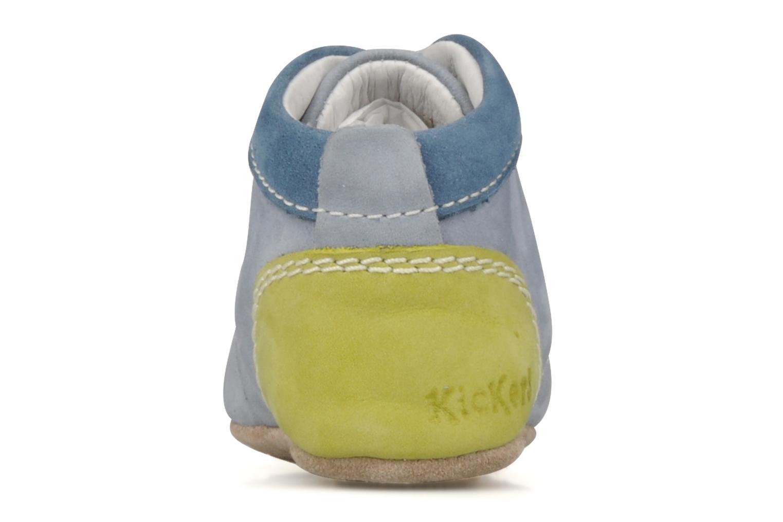 Stiefeletten & Boots Kickers 2B Big blau ansicht von rechts