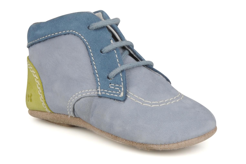 Stiefeletten & Boots Kickers 2B Big blau detaillierte ansicht/modell