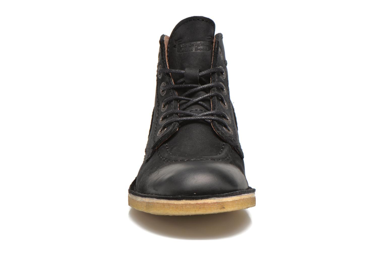 Zapatos con cordones Kickers Kick legend Negro vista del modelo