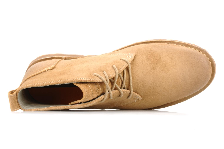 Bottines et boots Timberland Earthkeepers suede desert boot Beige vue gauche