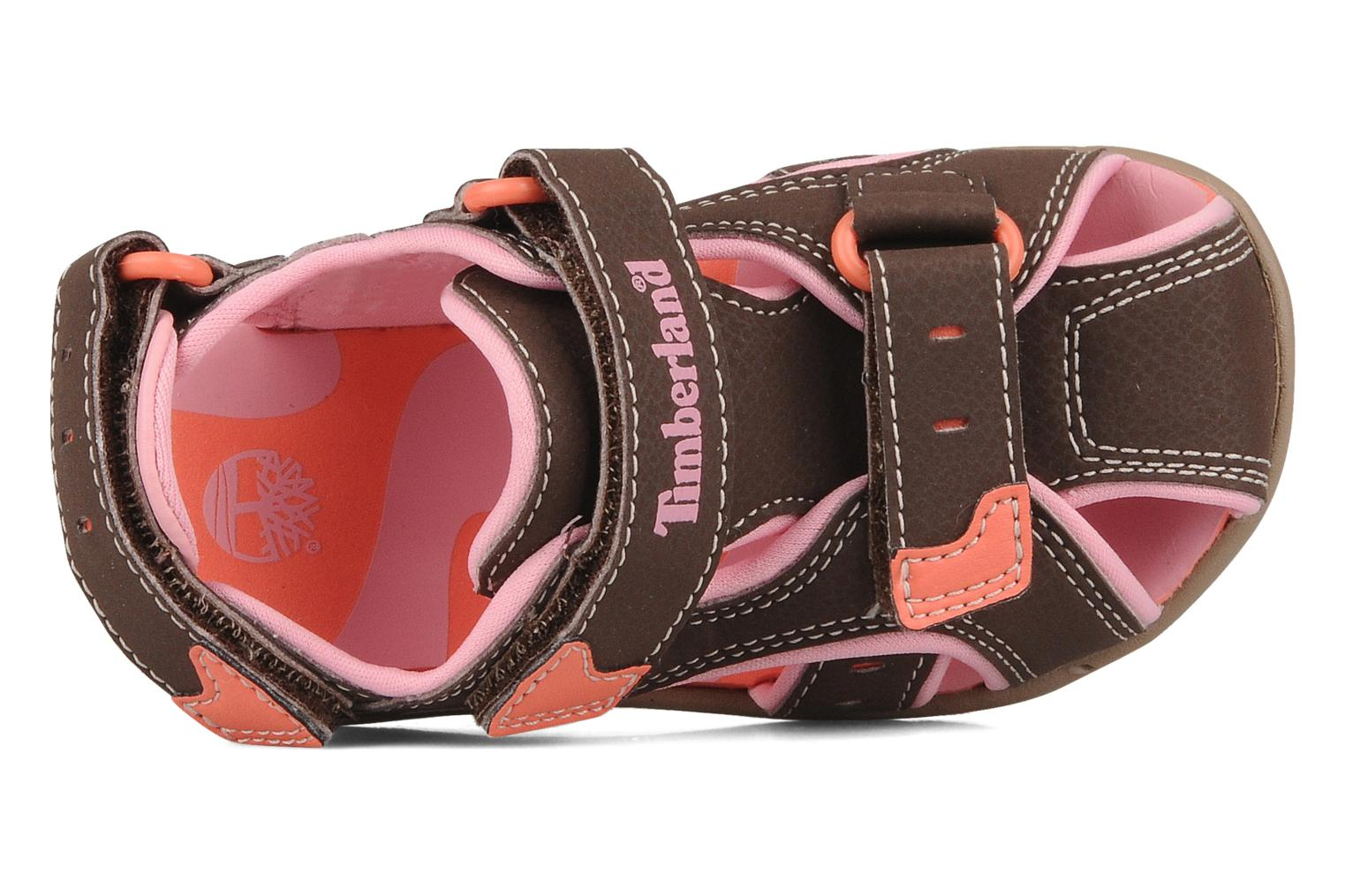 Riverquest closed toe sandal Brown Pink