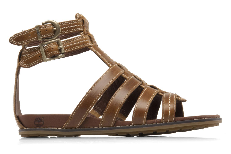 Sandales et nu-pieds Timberland Earthkeepers kennebunk braided gladiator Marron vue derrière