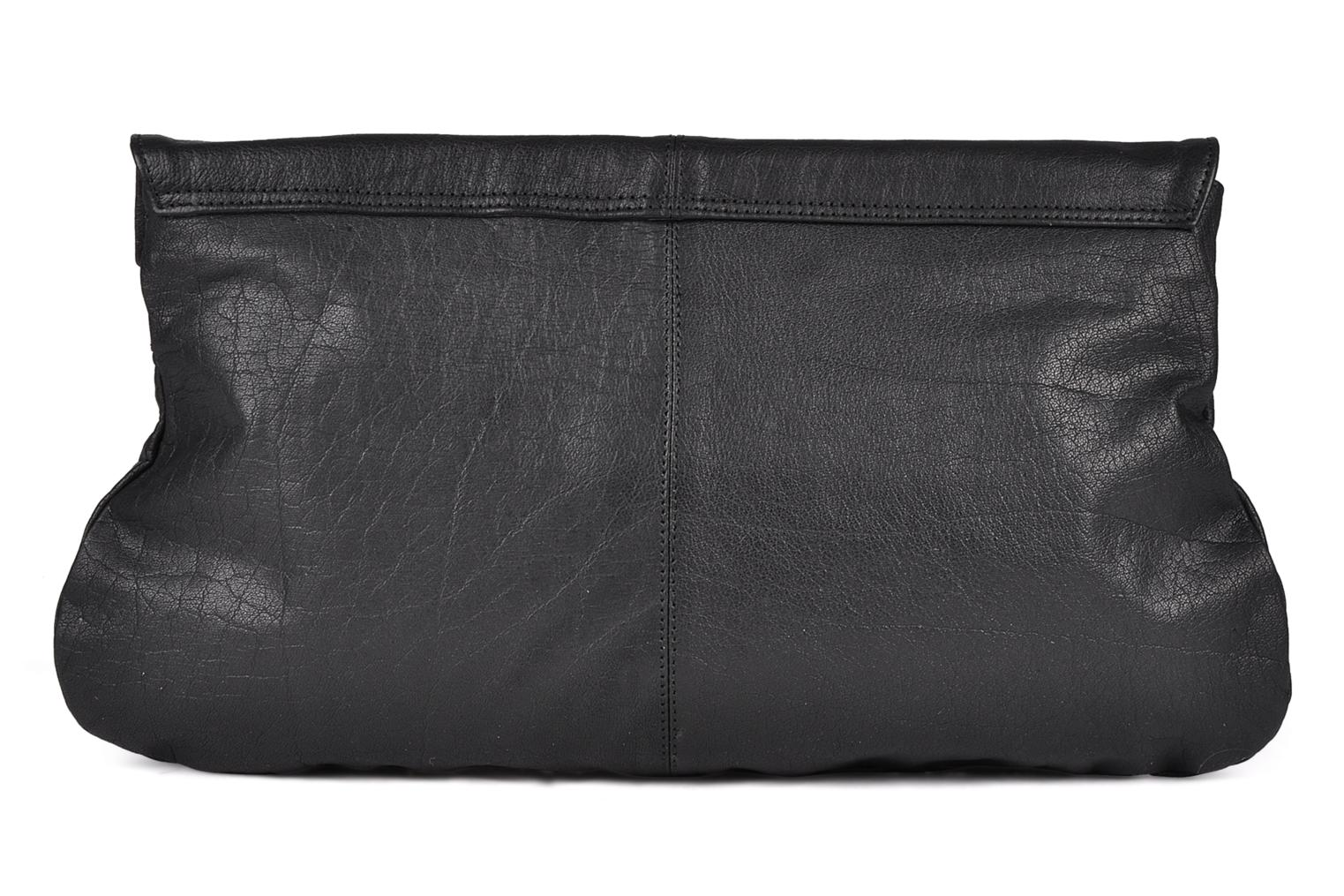 Handbags Friis & company Freestyle big clutch Black front view