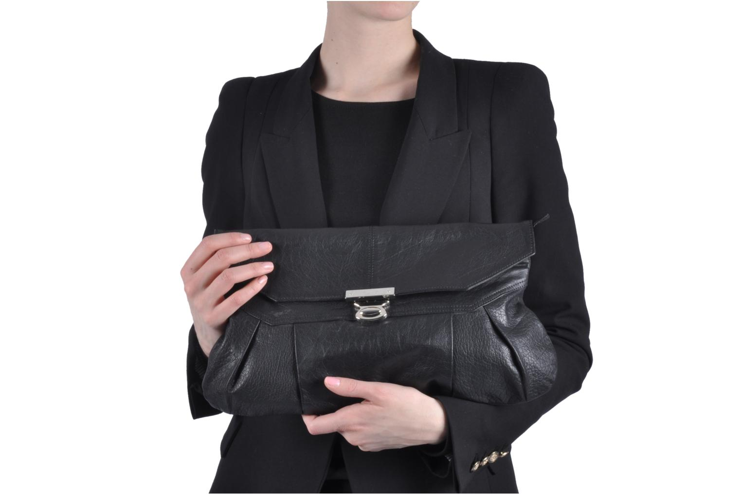 Handbags Friis & company Freestyle big clutch Black view from above