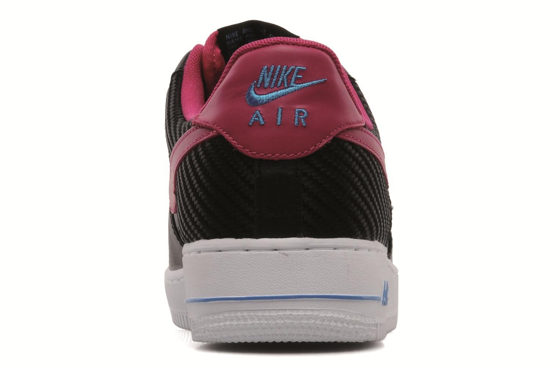 Deportivas Nike Air force 1 '07 le Negro vista lateral derecha