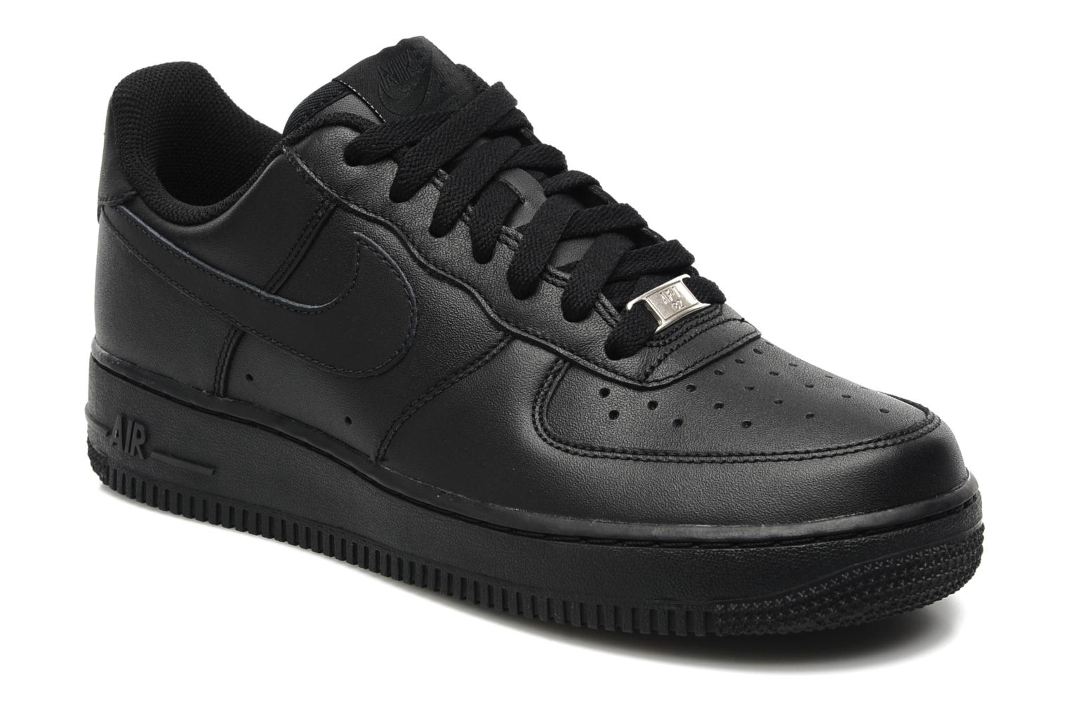 NIKE AIR FORCE negro