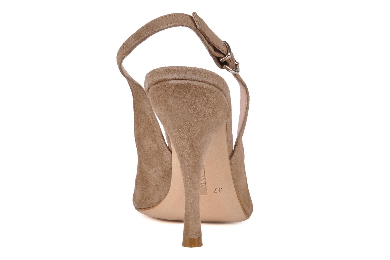 Sandali e scarpe aperte Manas Pulino Beige immagine destra