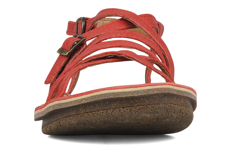 Sandales et nu-pieds Kickers Pinuts 2 Rouge vue portées chaussures