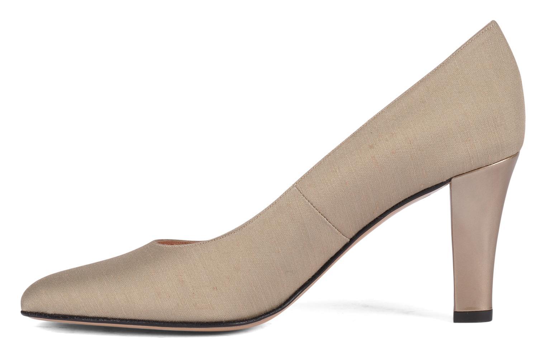 Zapatos de tacón Carel Verveine Beige vista de frente