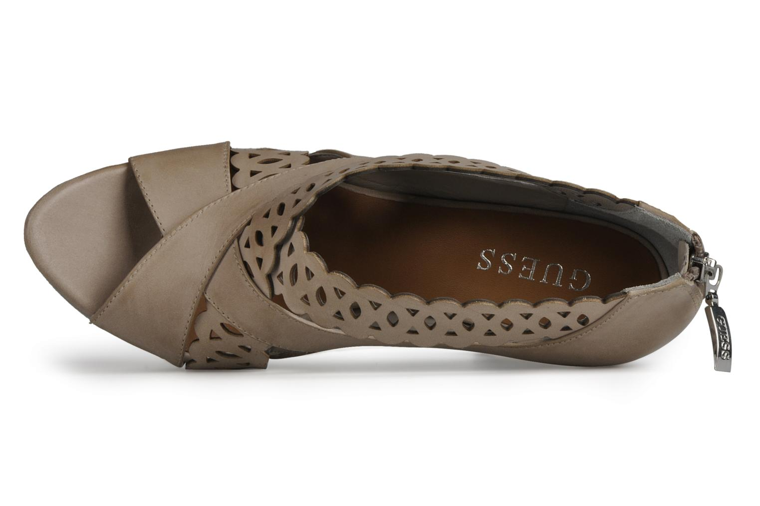 Sandals Guess Ost Beige view from the left